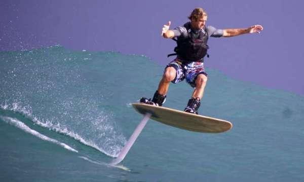 Hydrofoil Surfboard La Cura Dello Yacht